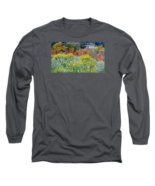 Hundred Hearts Long Sleeve T-Shirt by David Norman
