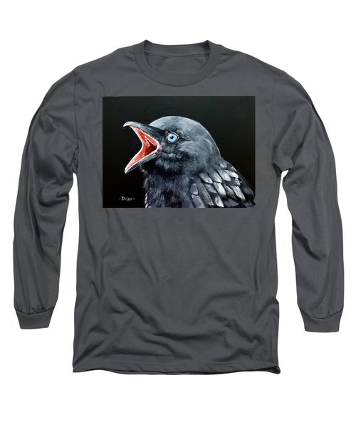 Hungry Baby Raven Long Sleeve T-Shirt