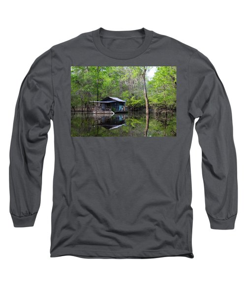 Hunting And Fishing Cabin Long Sleeve T-Shirt