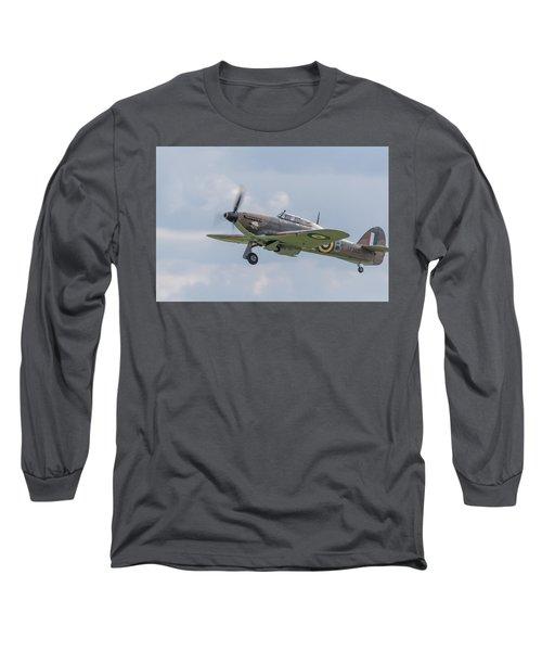 Hurricane Taking Off Long Sleeve T-Shirt