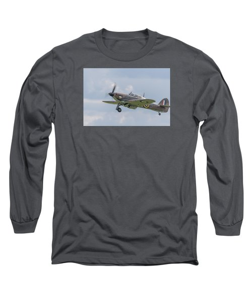 Hurricane Taking Off Long Sleeve T-Shirt
