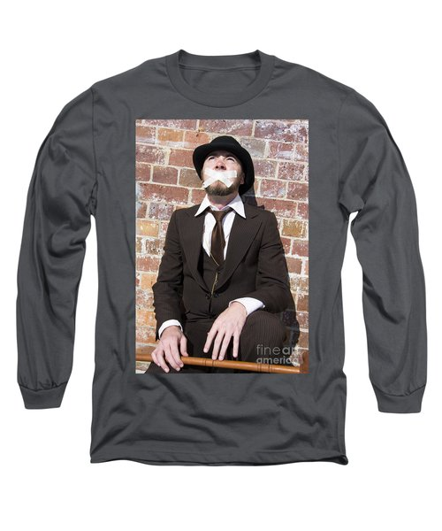 Hushing Humanity Long Sleeve T-Shirt