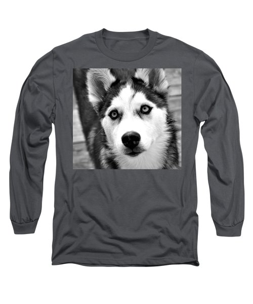 Husky Pup Long Sleeve T-Shirt