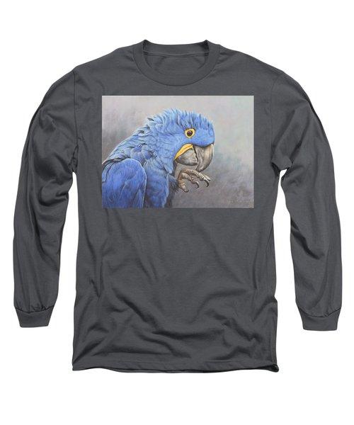 Hyacinth Macaw Long Sleeve T-Shirt