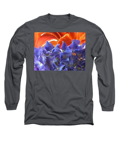 Hyacinth With Flames Long Sleeve T-Shirt
