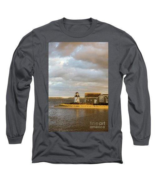 Hyannis Harbor Lighthouse Long Sleeve T-Shirt
