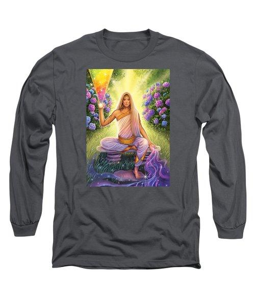 Hydrangea - Restructure The Pattern Long Sleeve T-Shirt