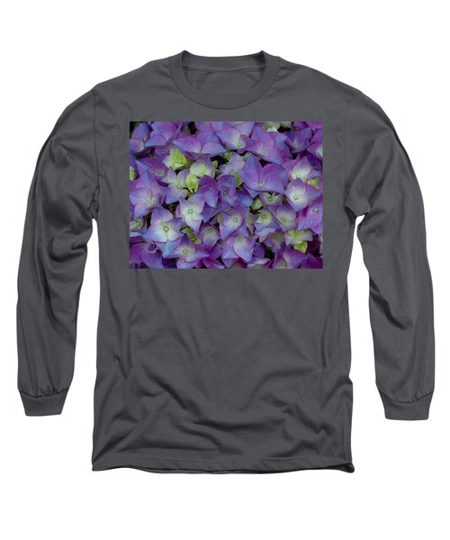 Hydrangia Blossom Long Sleeve T-Shirt