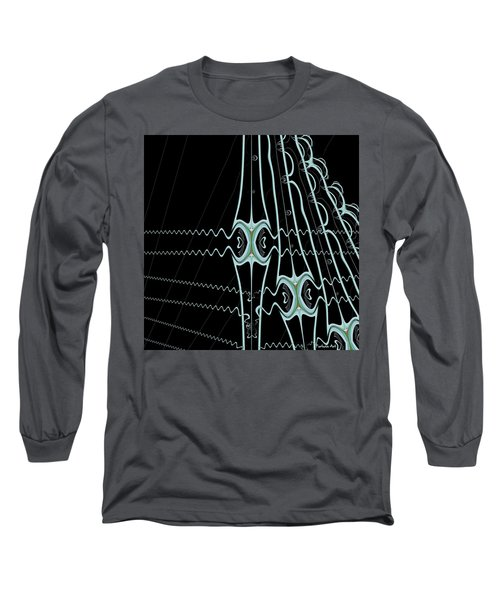 Long Sleeve T-Shirt featuring the digital art Hydras by Dragica  Micki Fortuna