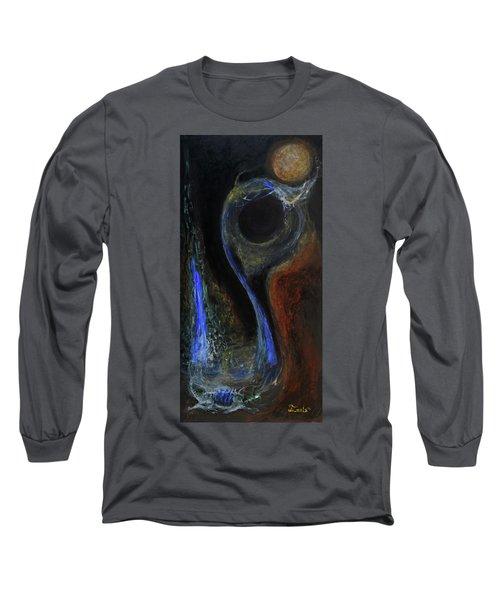 Hydrogen Fiend Long Sleeve T-Shirt by Christophe Ennis