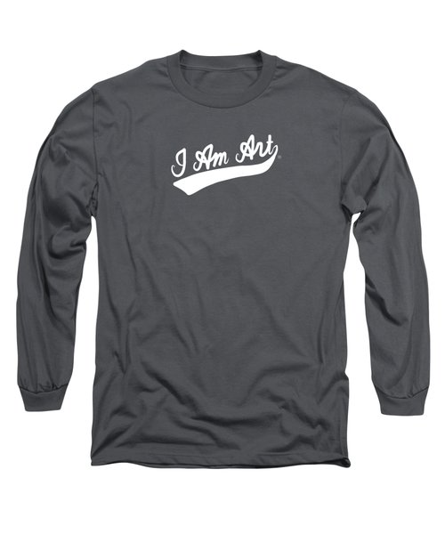 I Am Art Swoosh- Art By Linda Woods Long Sleeve T-Shirt