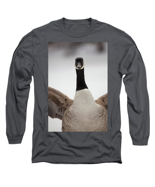 Long Sleeve T-Shirt featuring the photograph I Am Coming After You by Karol Livote
