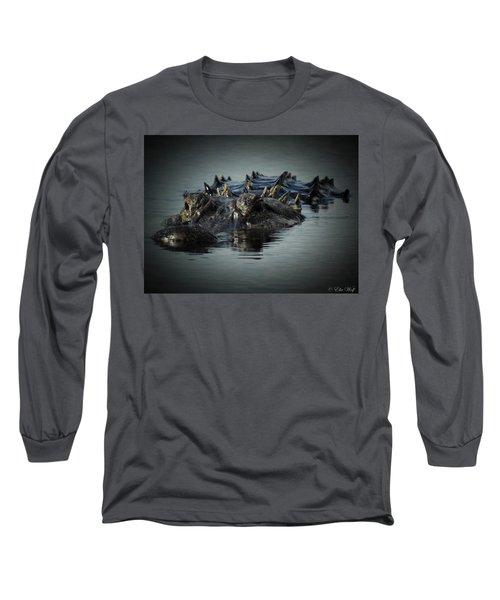 I Am Gator, No. 45 Long Sleeve T-Shirt