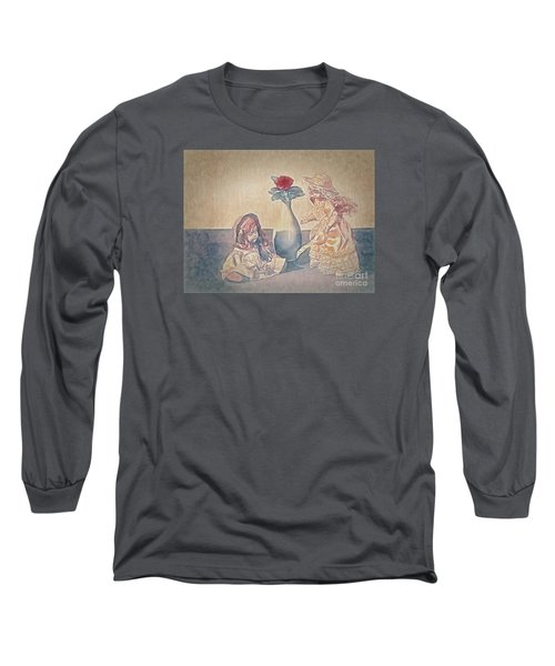 Long Sleeve T-Shirt featuring the photograph I Am Sorry  ... by Chuck Caramella