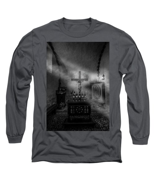 Long Sleeve T-Shirt featuring the photograph I Am The Light Of The World by David Morefield