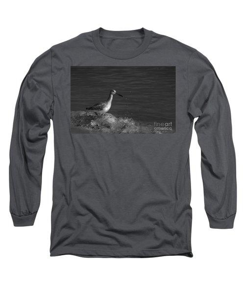 I Can Make It - Bw Long Sleeve T-Shirt