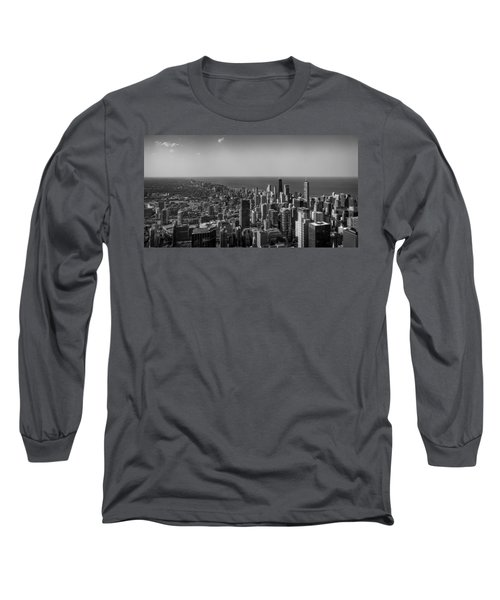 Long Sleeve T-Shirt featuring the photograph I Can See For Miles And Miles by Howard Salmon