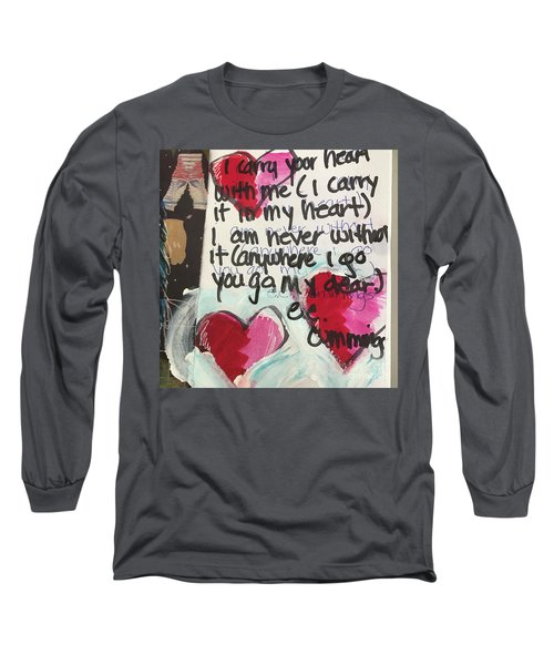 I Carry Your Heart In My Heart II Long Sleeve T-Shirt