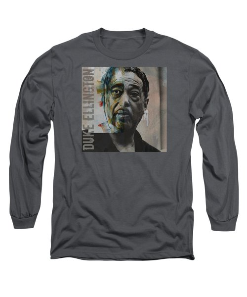 Long Sleeve T-Shirt featuring the painting I Got It Bad And That Ain't Good by Paul Lovering