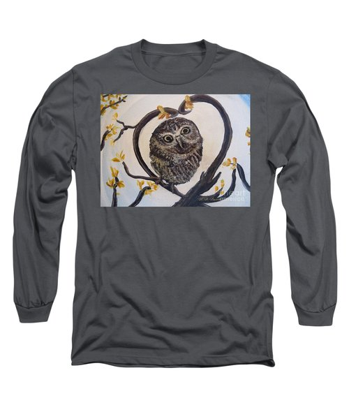 I Heart You Long Sleeve T-Shirt by Kimberlee Baxter