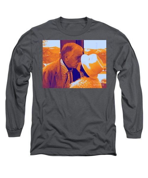 I Knew Two  Long Sleeve T-Shirt by Jesse Ciazza