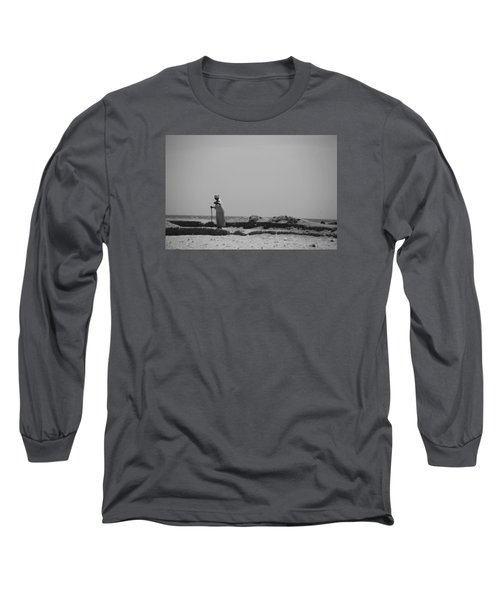 Long Sleeve T-Shirt featuring the photograph I Know Every Grain  by Jez C Self