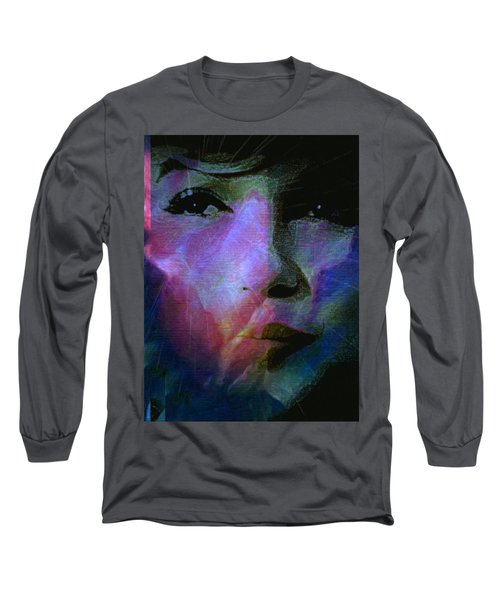 I Liked You Because You Were Kind. Long Sleeve T-Shirt by Michele Carter