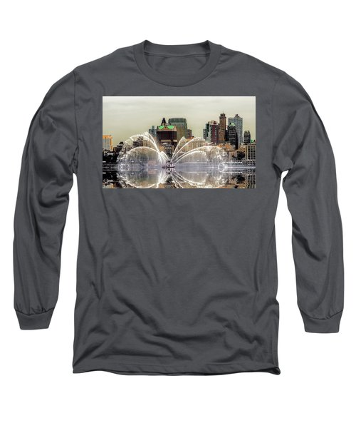 I Love My Job Long Sleeve T-Shirt by Jeffrey Jensen