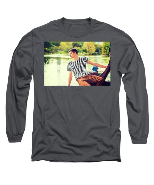 I Missing You And Waiting For You Long Sleeve T-Shirt