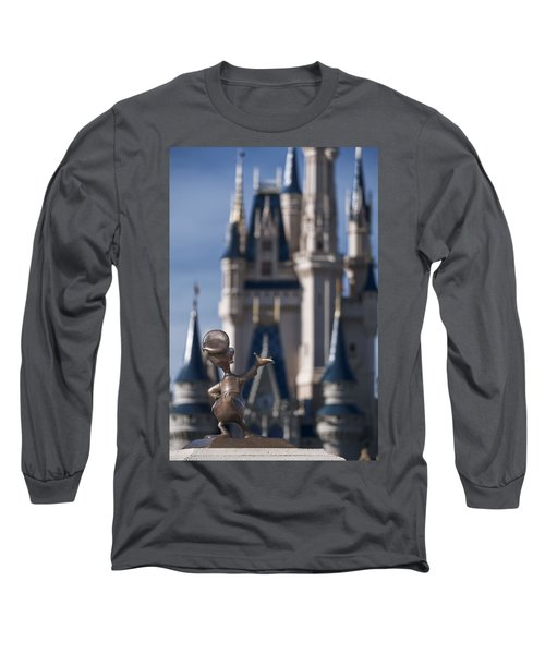 I Present You Cinderella's Castle Long Sleeve T-Shirt