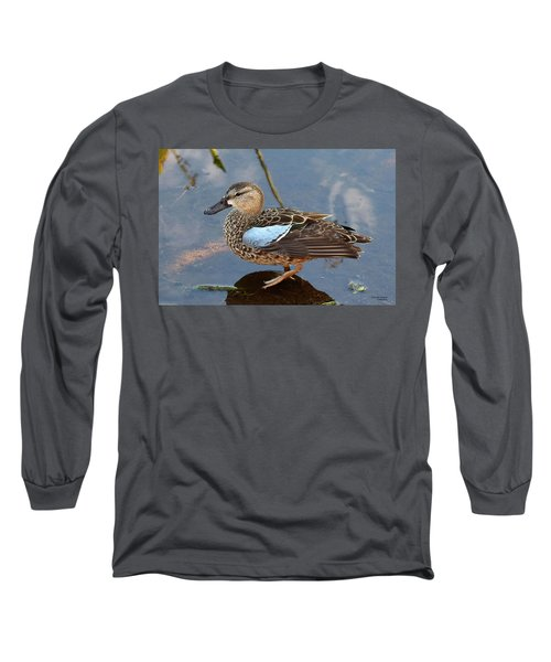 I Really Am A Green Winged Teal Long Sleeve T-Shirt