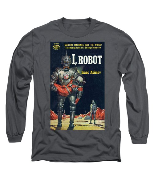 I, Robot Long Sleeve T-Shirt by Robert Schulz