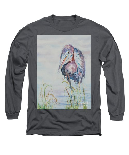 I See Lunch Long Sleeve T-Shirt by Mary Haley-Rocks