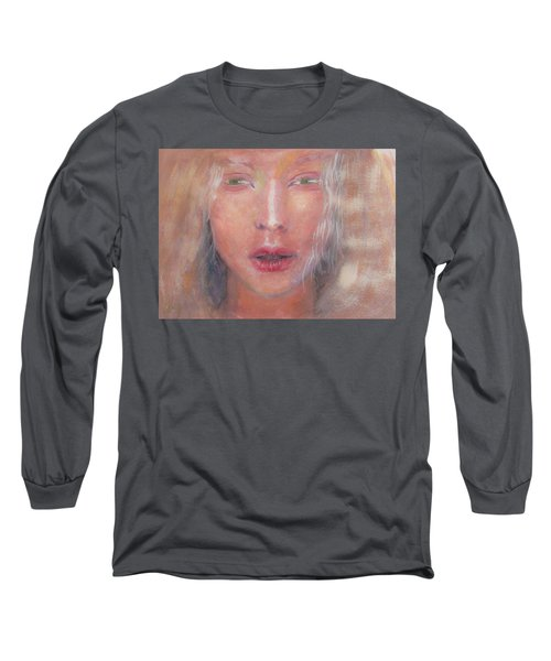 Long Sleeve T-Shirt featuring the painting I See The Light by Jarko Aka Lui Grande