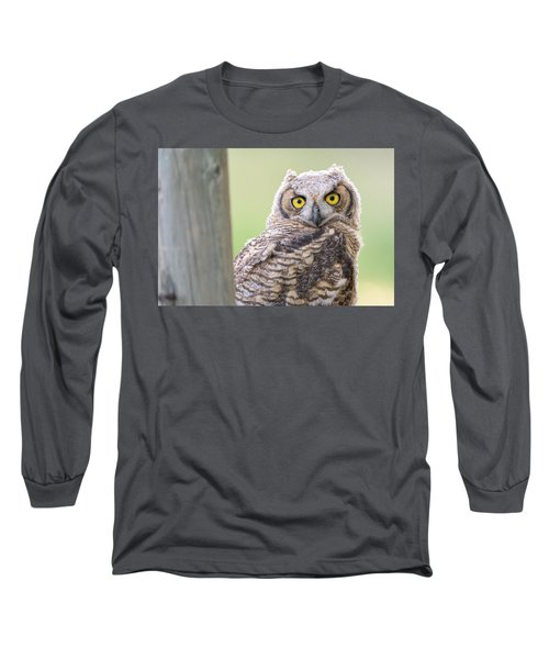 I See You Long Sleeve T-Shirt by Scott Warner