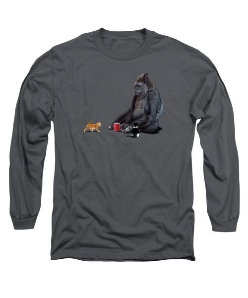 I Should Koko Wordless Long Sleeve T-Shirt by Rob Snow