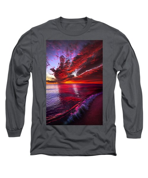 I Wake As A Child To See The World Begin Long Sleeve T-Shirt