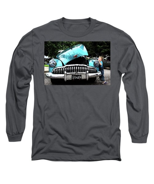 Long Sleeve T-Shirt featuring the photograph I Want To See by Vicki Pelham