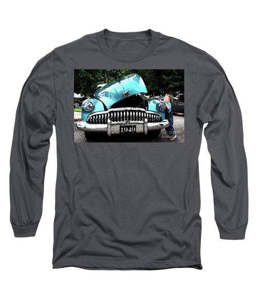 I Want To See Long Sleeve T-Shirt by Vicki Pelham