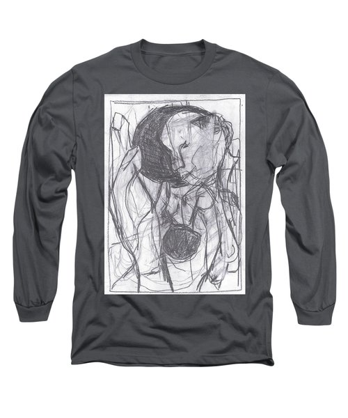 I Was Born In A Mine 3 Long Sleeve T-Shirt