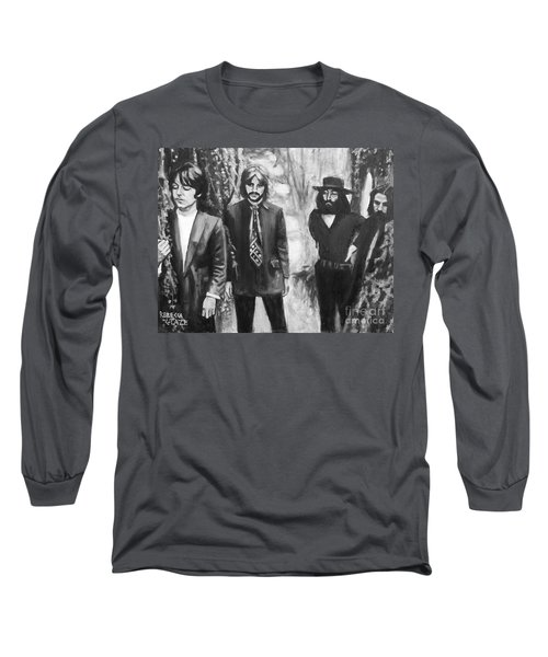 And In The End Long Sleeve T-Shirt by Rebecca Glaze