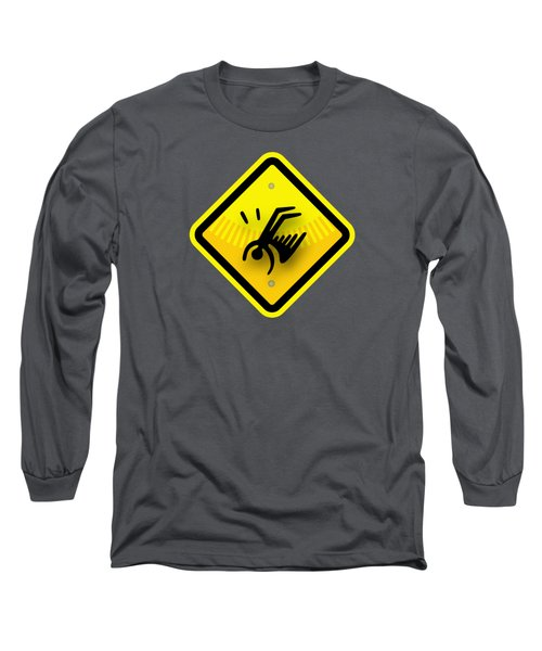 Icarus Hazard Long Sleeve T-Shirt by Stan  Magnan
