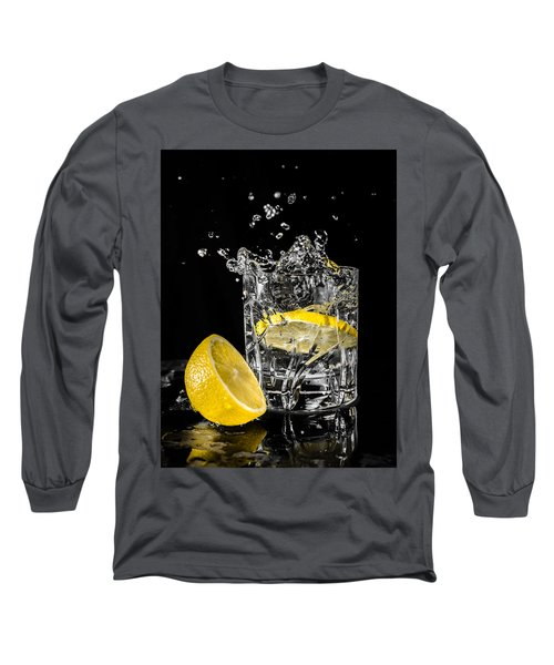 Long Sleeve T-Shirt featuring the photograph Ice And A Slice by Nick Bywater