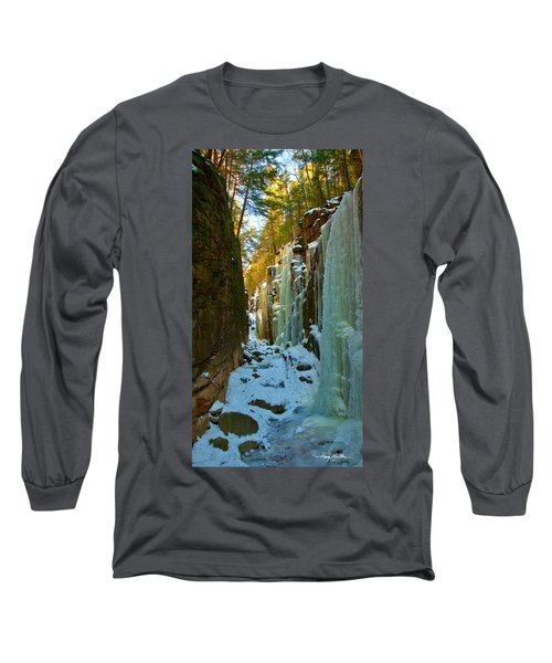 Ice At The Flume Long Sleeve T-Shirt