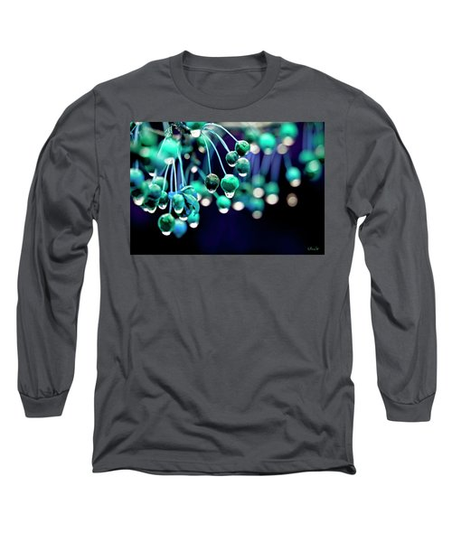Ice Blue Crab Apples  Long Sleeve T-Shirt
