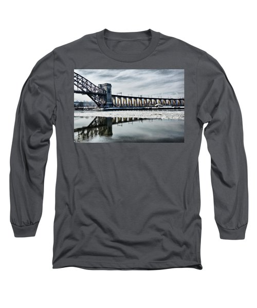 Ice Flows Under The Hellgate Long Sleeve T-Shirt