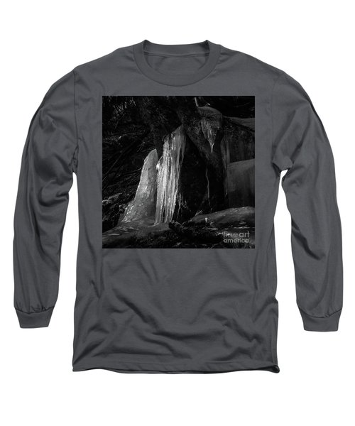 Long Sleeve T-Shirt featuring the photograph Icicle Of The Forest by Tatsuya Atarashi