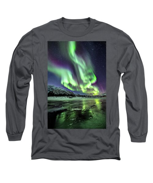 Ice Reflection I Long Sleeve T-Shirt