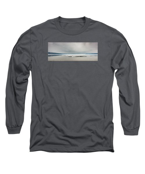 Ice Sheet Long Sleeve T-Shirt by Dan Traun