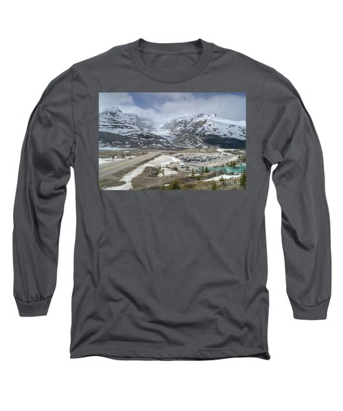 Icefields Parkway Highway 93 Long Sleeve T-Shirt